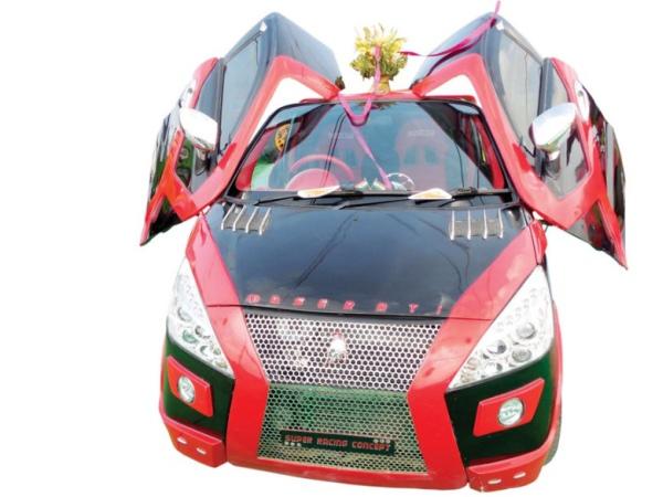 Gurmeet Ram Rahim Singh Insan's Modified Car 3