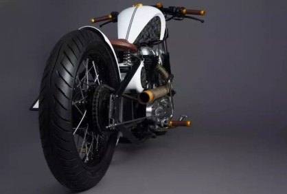 Mean Green Customs' MG-07 Bobber 4