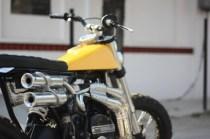 Motoexotica's Yamaha RD350 Scrambler Eight 4