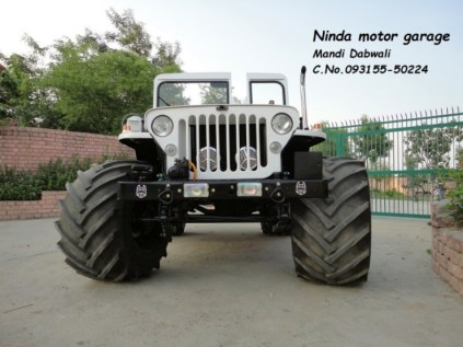 Ninda Motor Garage's Jeep Custom 4