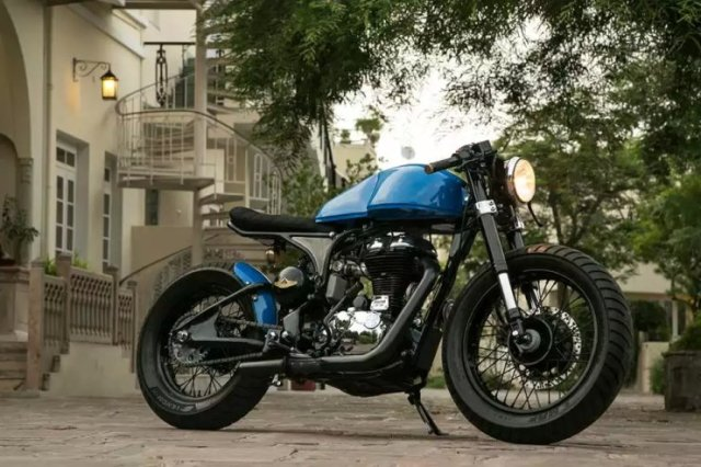 Rajputana Customs' NU Cafe Racer 1