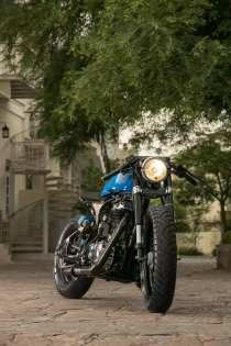 Rajputana Customs' NU Cafe Racer 3