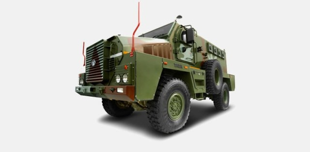 Tata Armored Personnel Carrier 4X4 1