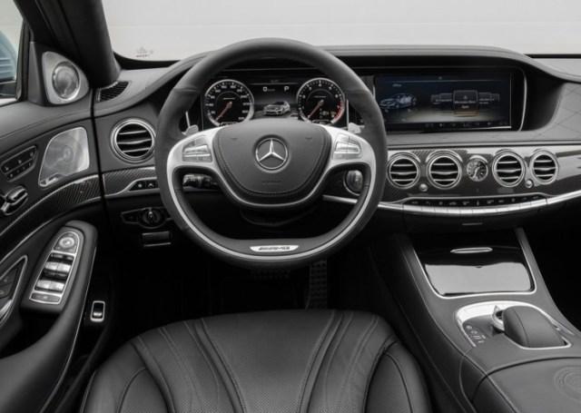 W222 Mercedes Benz S-Class S63 AMG 2
