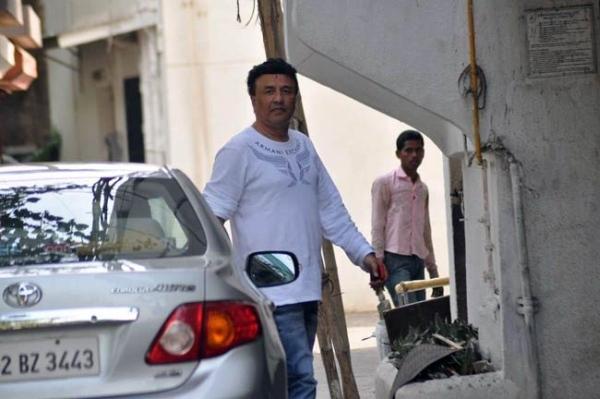 Anu Malik with his Toyota Corolla Altis