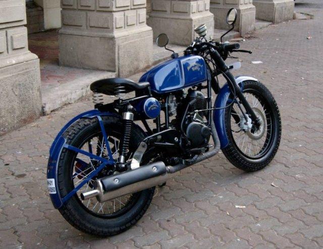 Bombay Custom Works' Bajaj Pulsar based cafe racer custom 4