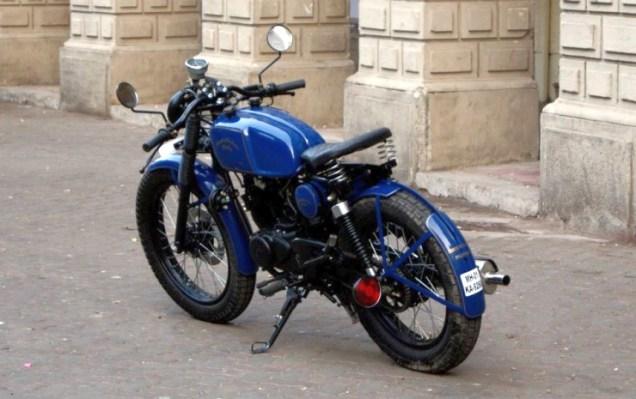 Bombay Custom Works' Bajaj Pulsar based cafe racer custom 6