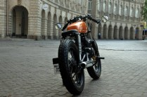 Bombay Custom Works' Yamaha RX135 Cafe Racer 3
