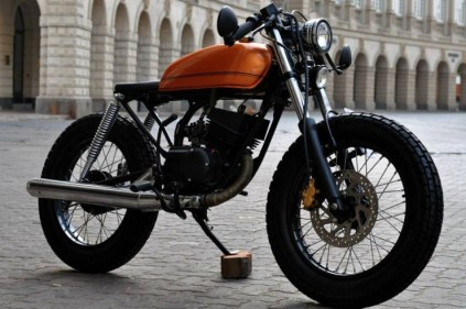 Bombay Custom Works' Yamaha RX135 Cafe Racer 4