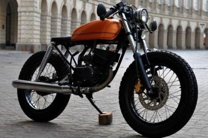 Bombay Custom Works' Yamaha RX135 Cafe Racer 4