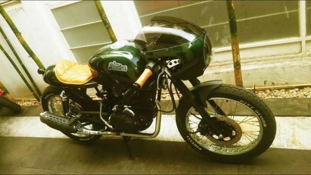 Bone Breaker Bajaj Pulsar Cafe Racer 2