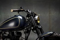 Bull city Customs' Royal Enfield Electra based Cruiser Custom 3