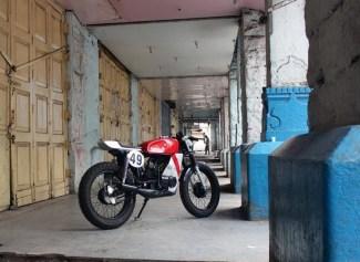 IRONic Engineering's Yamaha RX100 Cafe Racer 3