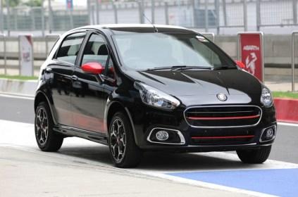India Spec Fiat Punto Abarth 1