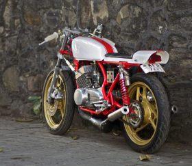 JC Moto's Yamaha RD350 Cafe Racer 4
