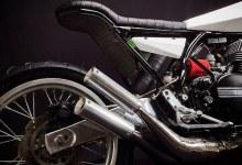 MotoExotica's Yamaha RD350 StreetTracker 4