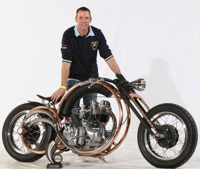 Piet Smit's Royal Enfield Olympic Custom 1