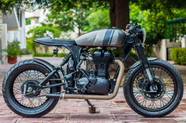 Rajputana Motorcycles' RE500 Cafe Racer 2