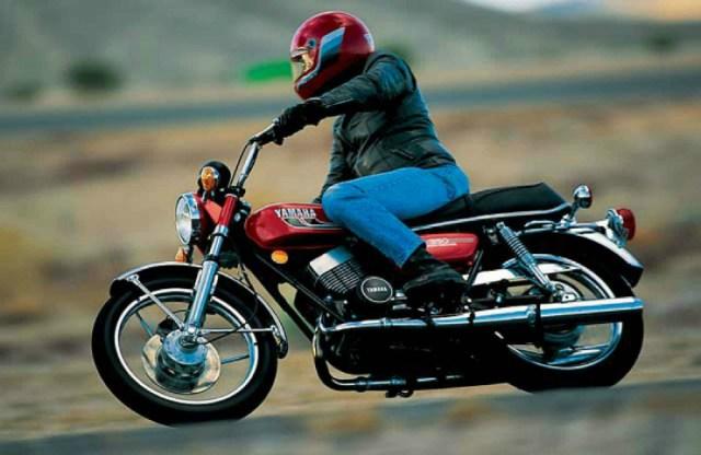Yamaha RD350 (Motorcyclistonline)