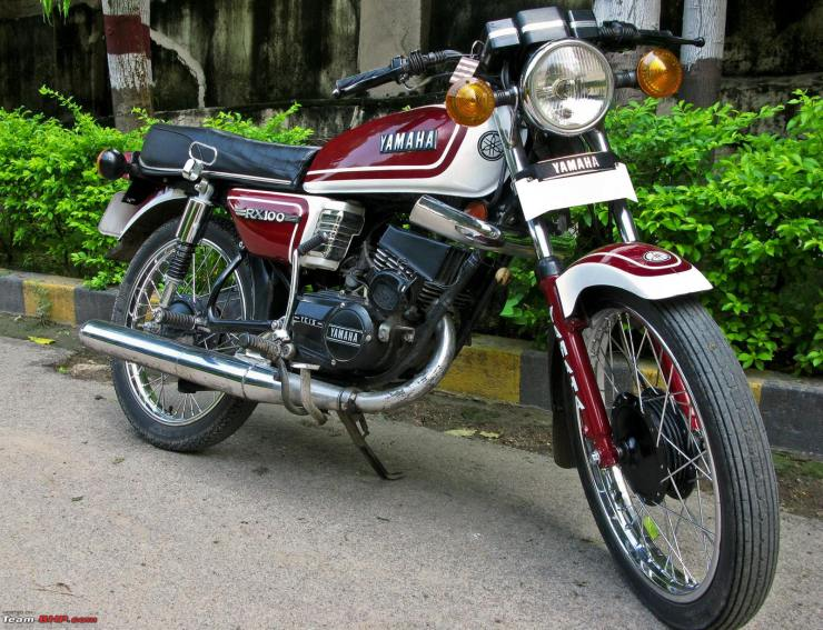 2-stroke Motorcycle Legends Of India: Yamaha RX100, RD 350