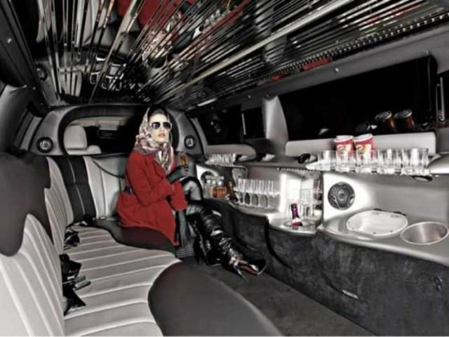 Chrysler Limousine Interior