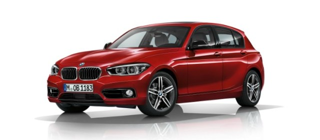 BMW 1 Series Facelift Sport Line front