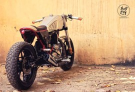 Bull City Customs' Thunderbird Cafe Racer 1