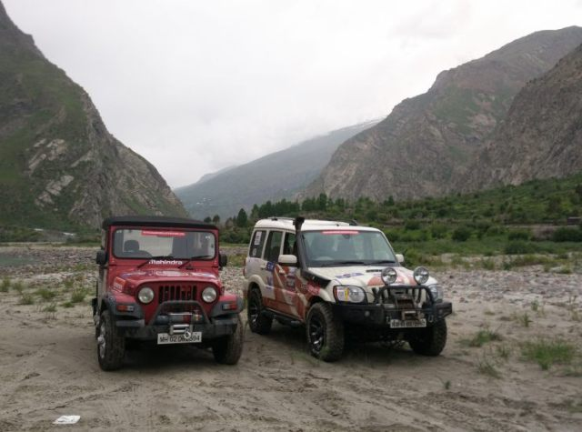 Day 4 the only two with winches (1)