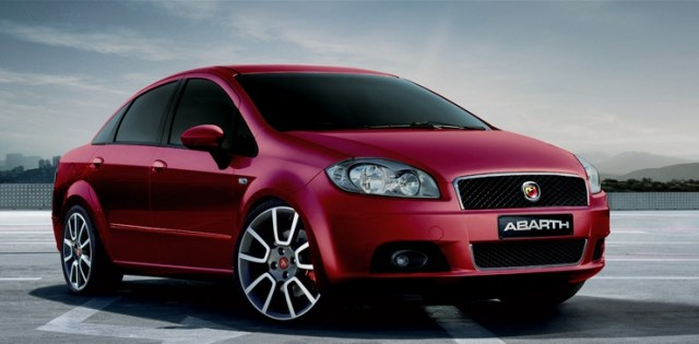 Fiat Linea Abarth Render