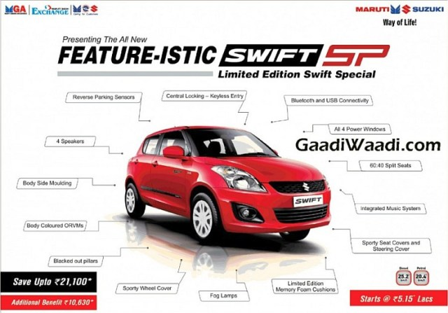 Maruti Swift SP
