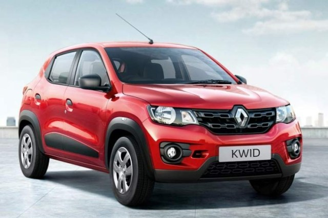 Renault Kwid in Red 2
