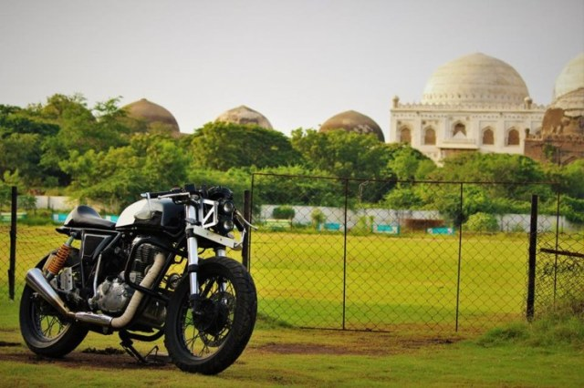 Buraq Motorcycles' Continental GT Custom 3
