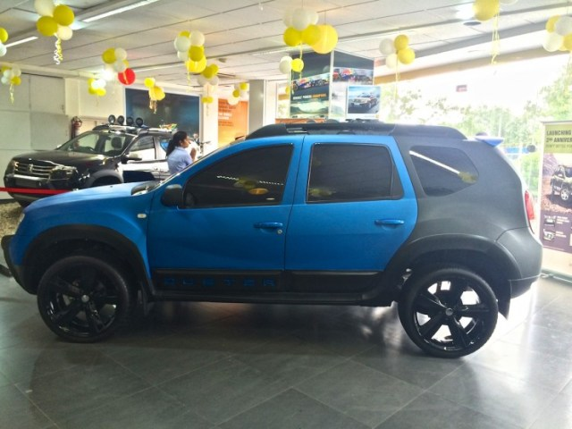 Renault Duster modified side