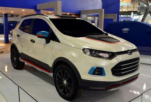 Ford EcoSport custom Beast Concept