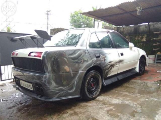 Maruti Esteem diesel custom rear