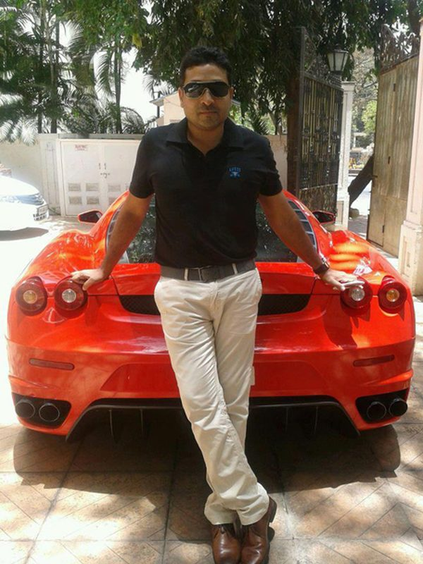 Wonderful Mohammed Nisham With His Ferrari F430
