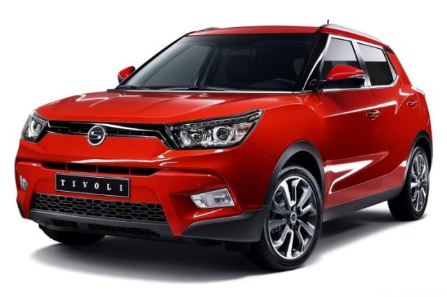 Ssangyong Tivoli Compact SUV 4