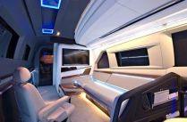 Sanjay Dutt vanity van interior white