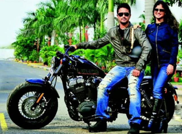 Pragyan Ojha Harley Davidson