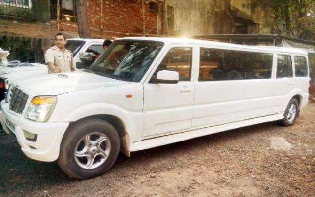 Modified Mahindra Scorpio Limousine 1