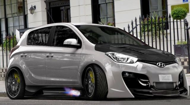 Hyundai i20 Low Rider