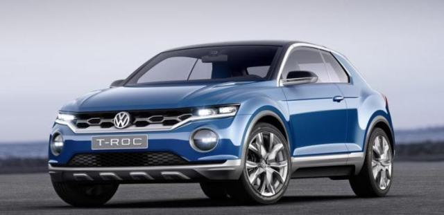 Volkswagen T-Roc image used as an illustration