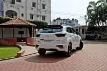 Hyundai Creta Modified rear three quarter
