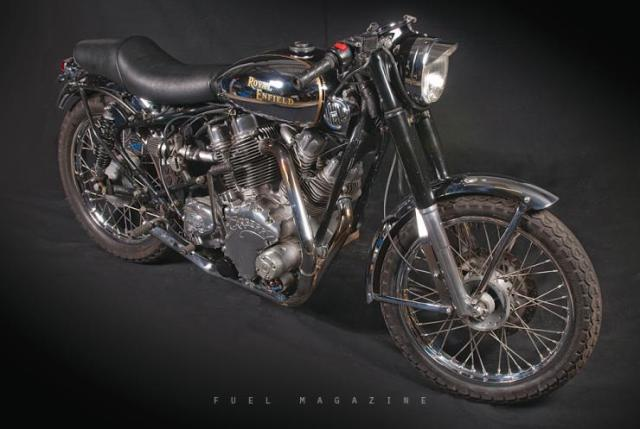 Carberry Enfield V-Twin Bullet 2