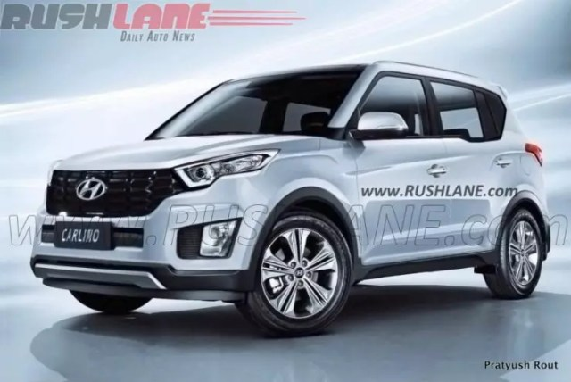 Hyundai Carlino Rendering