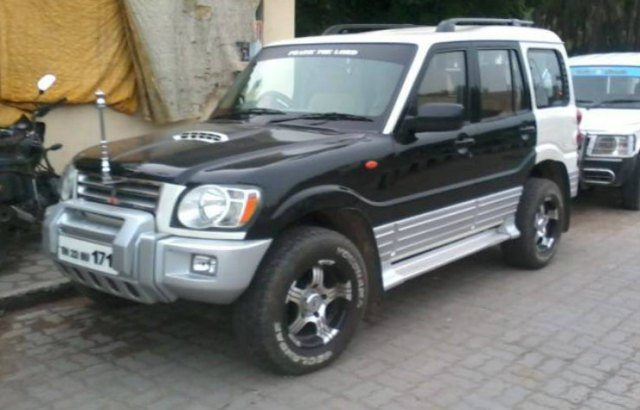 scorpio modified pajero