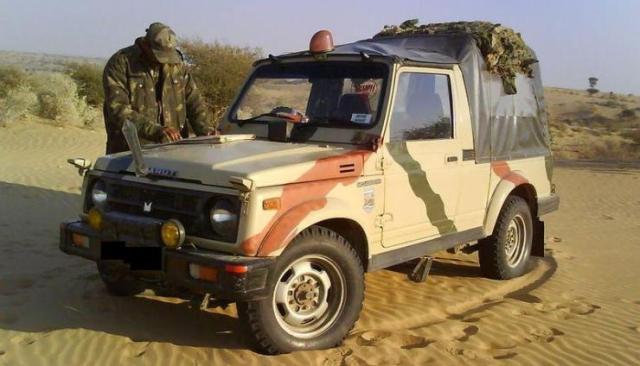 Indian Army Gypsy