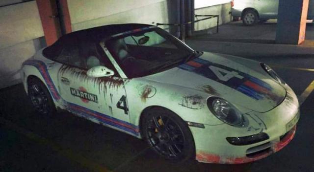 Porsche 911 Rust Wrap 1
