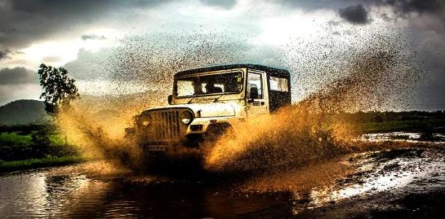 Mahindra Thar Off Road