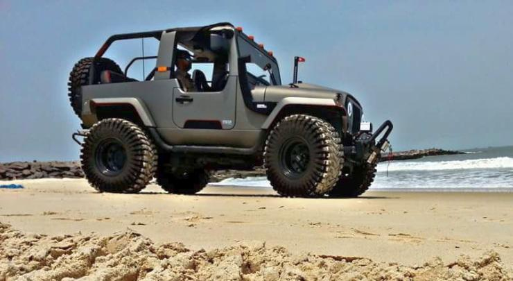 Off Road Jeep Hd Wallpaper >> The insane Mahindra Thar Daybreak edition will actually be built